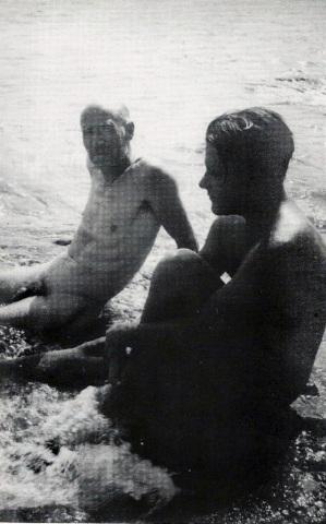 Miller y Durrell en Corfú, 1939